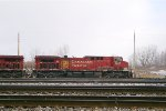 CP 8509 IN A SMALL SNOW SHOWER